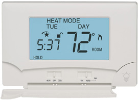 Lux Seven-Day Programmable Thermostat
