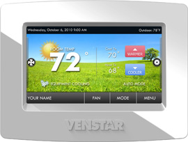 Venstar Thermostat w/ Touch Screen